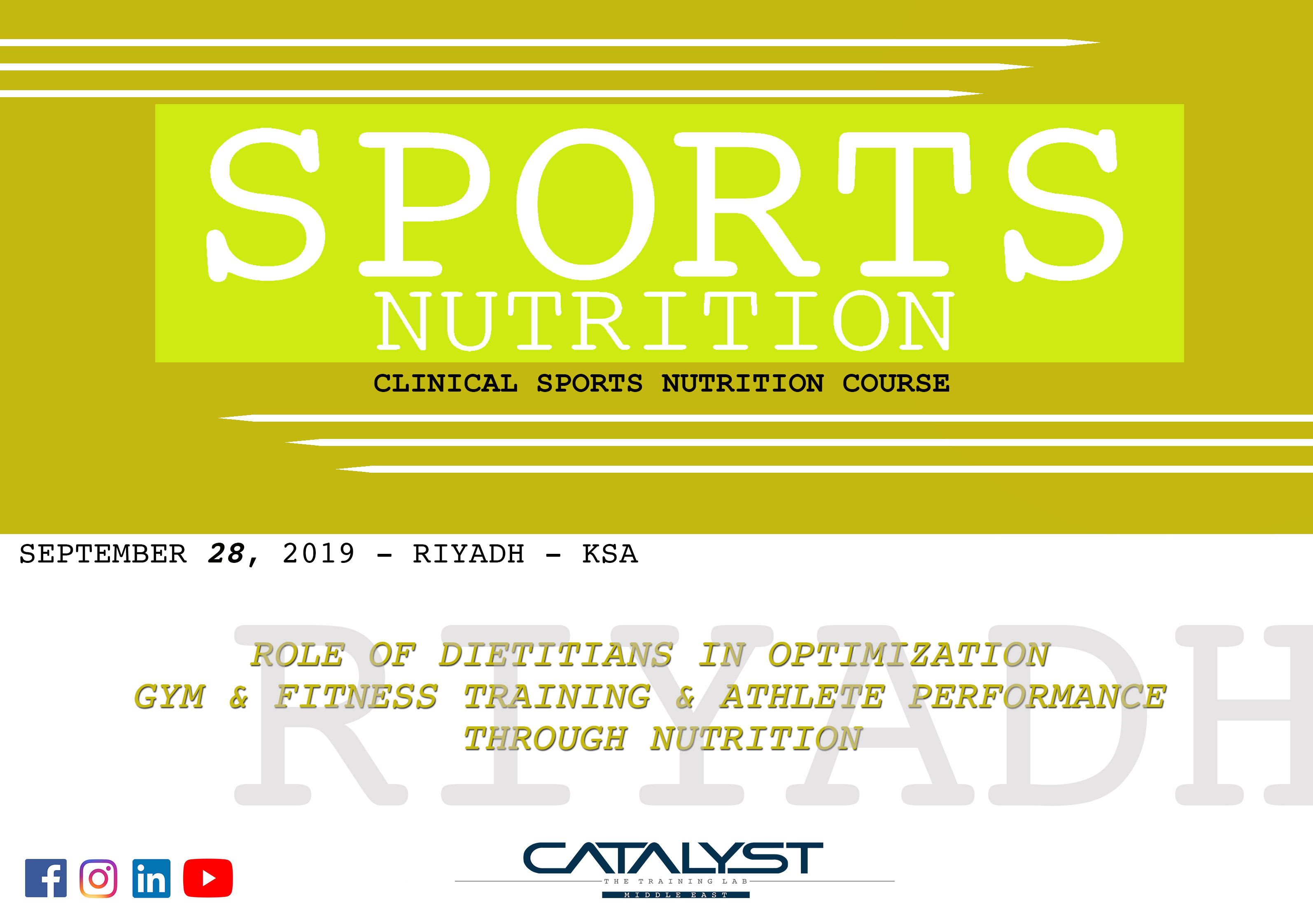 Catalyst - The Training Lab - Middle East